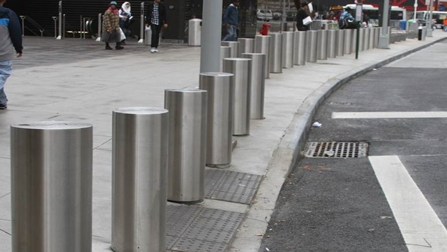 Shallow Buried Bollards