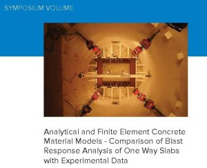 Modeling Concrete Structures with the Finite Element Method